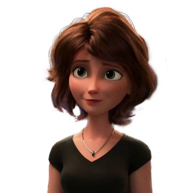 cartoon 3d woman