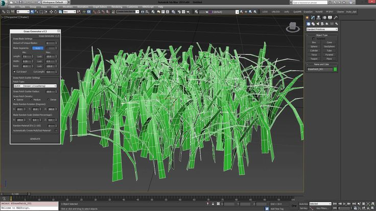 Grass Generator 1.5 for 3ds Max