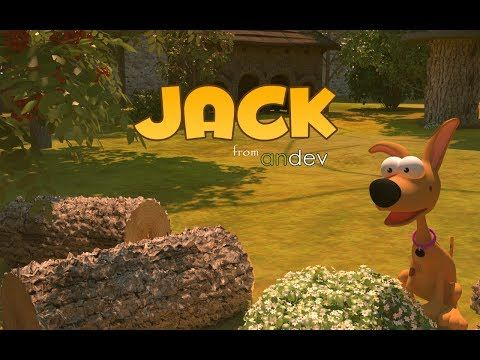 Jack 3D platform game for android by Andev.