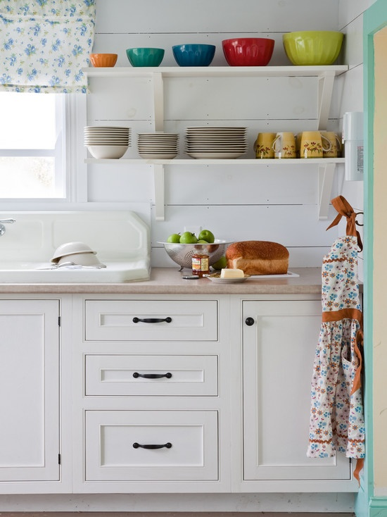 Kitchen Beadboard Cozy Country Cottage Design, Pictures, Remodel, Decor and Ideas - page 34