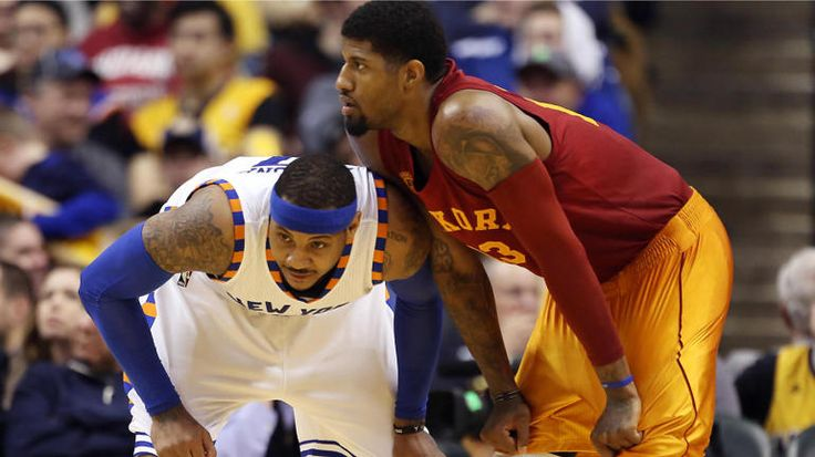 Carmelo Anthony says he and Paul George almost got traded to Cavs