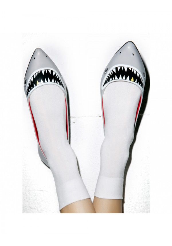 Taylor Says Sharkie Flats | Dolls Kill