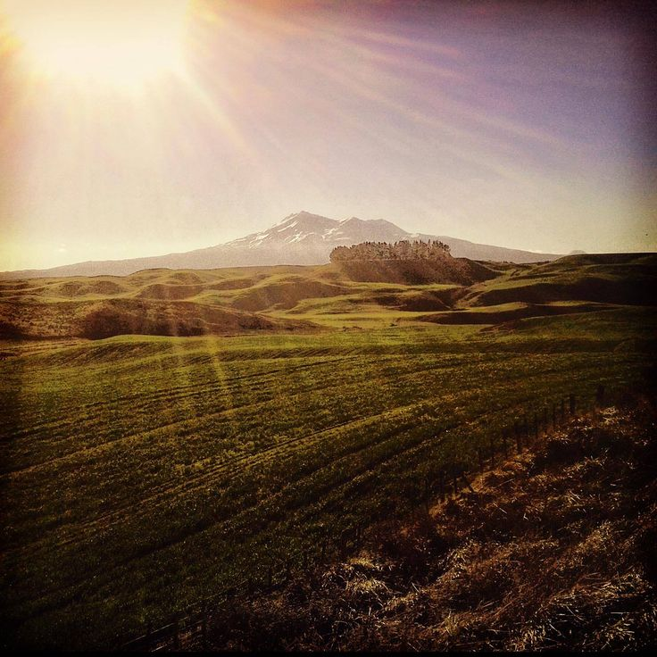 Mt Ruapehu - Thanks Keith Strode-Penny for this stunning pic from the Northern Explorer in Dec 2014