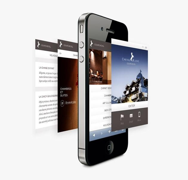 LVMH Cheval Blanc | UZIK | Agence de communication interactive    View more on: http://www.agence-web-lausanne.com