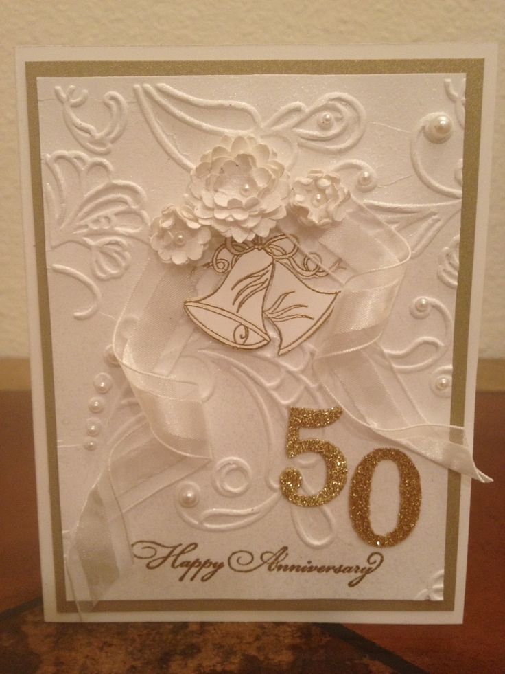 Best 25+ 50th anniversary cards ideas on Pinterest Wedding - anniversary card template