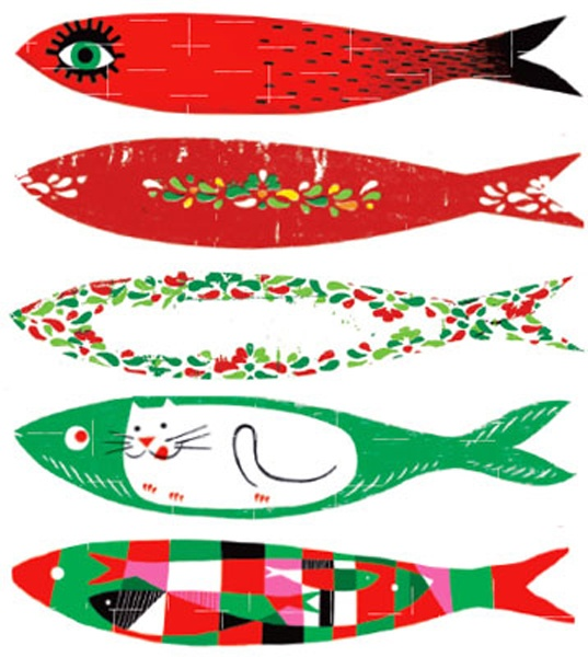 Icon: The sardines - Lisbon June Festivities #Portugal