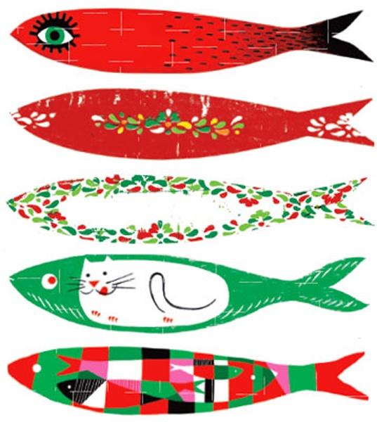 Icon: The sardines - Lisbon June Festivities #Portugal