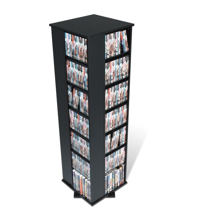 Prepac 4-sided Spinning Media Tower