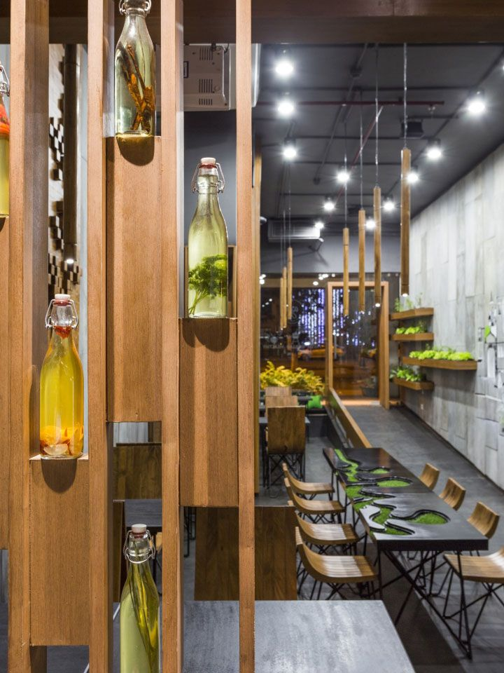 Aja Quick Service Restaurant by Arch.Lab, Chandigarh – India » Retail Design…