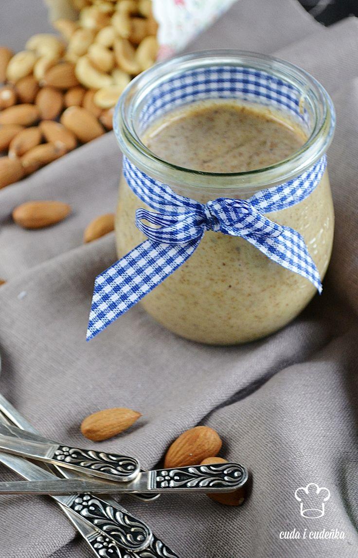 Masło migdałowe/ Almond butter