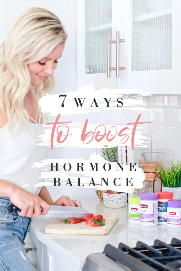 Learn 7 surefire ways to naturally boost hormone balance