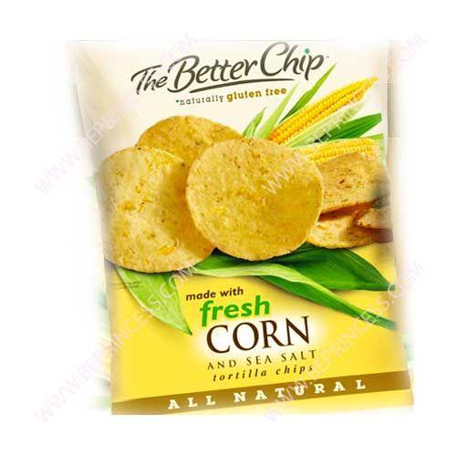 Chips, Better Chip Fresh Corn 1 oz