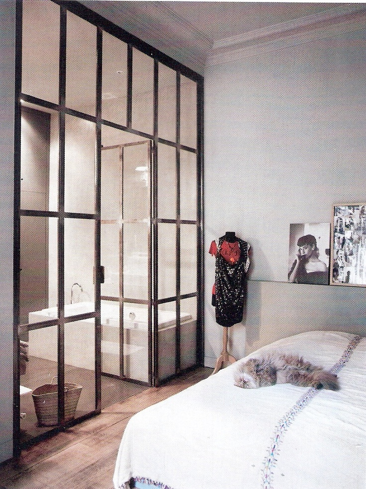 More internal windows like the thin black square panes for Glass walls