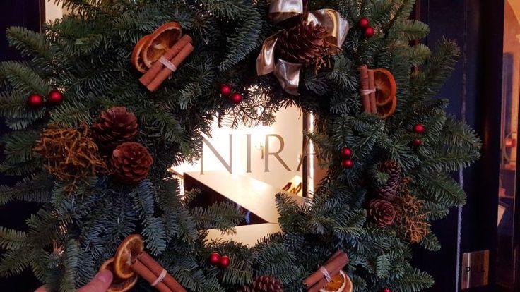 #Christmas at Nira Caledonia, a boutique hotel in #Edinburgh #Scotland