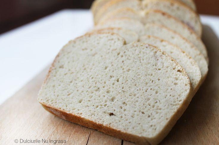Paine Dietetica (fara zahar, fara gluten, 100% sanatoasa) - Powered by @ultimaterecipe