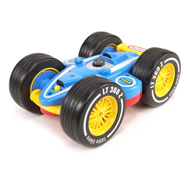 The Little Tikes Tire Twister is the biggest, baddest, wildest tire ever - all powered by a remote controlled car inside! The easy-to-steer remote control gives kids the power to control the car forwards and backwards. The car can perform backflips inside the tire to change directions, and can even spin the tire 360 degrees! Then take the car out for wild R/C action. It's two toys in one! <br><br>Product Features: <br><ul><li>Tire activated by remote con...