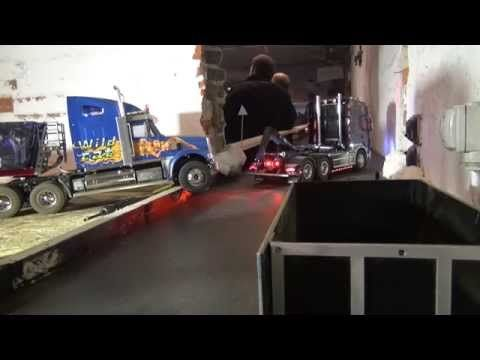 Rc Trucks (Midtjyskrc 17-01-2015 US truck, Bad Driving) - YouTube