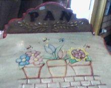 panera(detalle de tapa) pintura acrilica tecnica de tapa, flotado www.facebook.com/pages/An-Ver/582001688513051