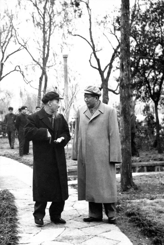Ho chi minh and Mao Zedong