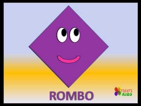 Las Formas, figuras geométricas para niños. (Cancion Infantil)