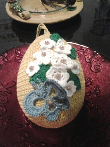 Easter egg crochet