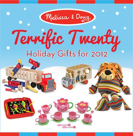 Check out Melissa & Doug's great gift list and giveaway!! #melissaanddoug #holidaygifts #giveaway #toys #giftsforkids