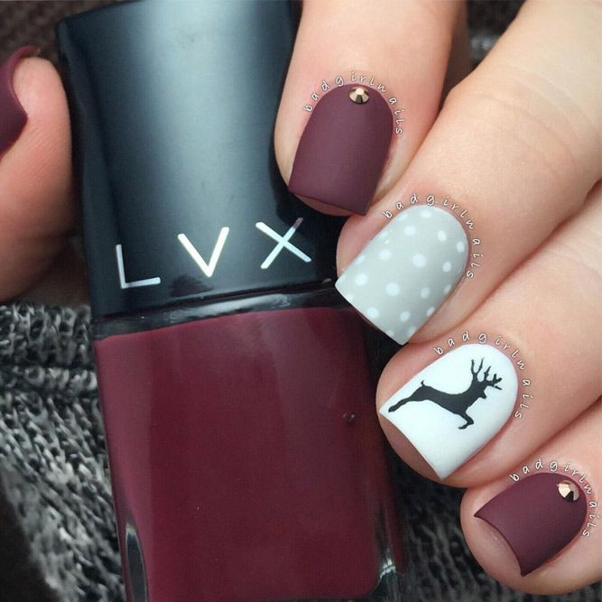 48 Perfect Winter Nails For The Holiday Season And More