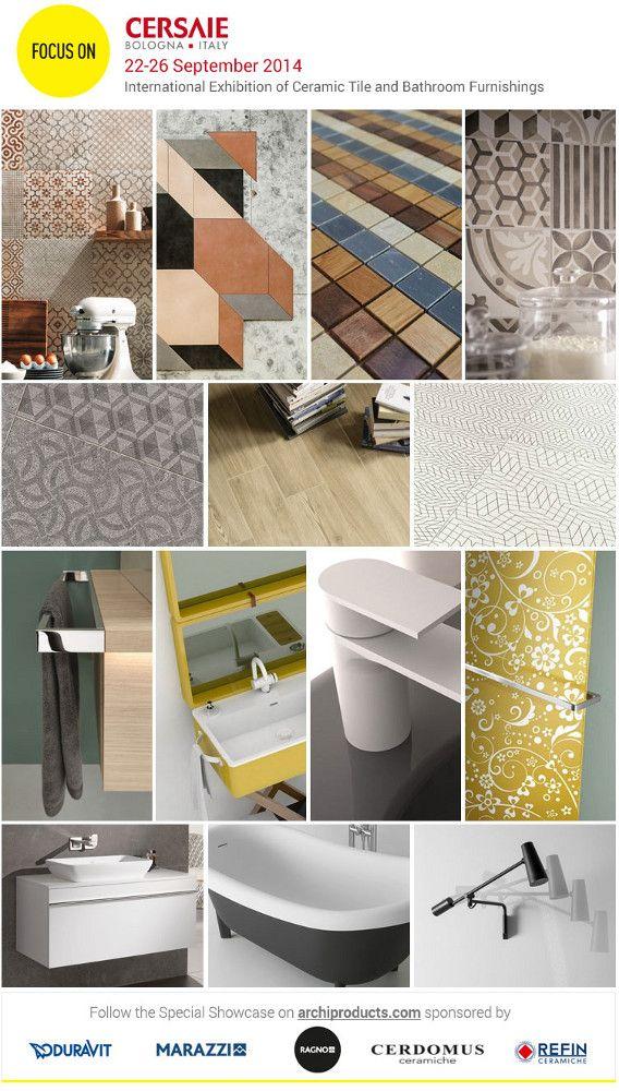 #Cersaie 2014 - 22/26 September 2014 - International Exhibition of #Ceramic #Tile and #Bathroom Furnishings #Cerdomus