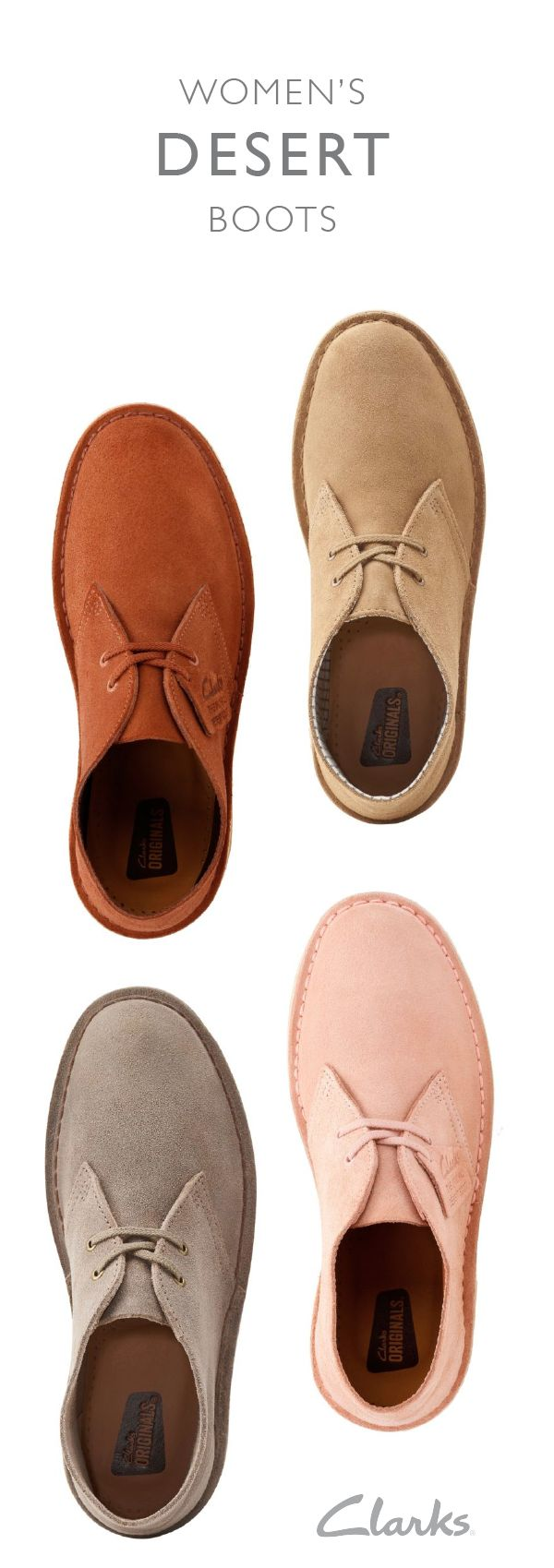 Since arriving in 1949, the iconic Desert Boot has brought comfort and style to people around the world. With its clean and elegant design, it's a versatile shoe that can go with just about anything in your closet.