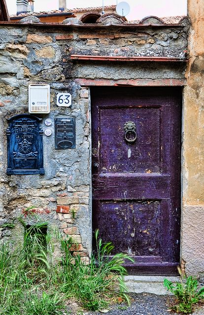 Door Series - Volterra | Flickr: Intercambio de fotos: