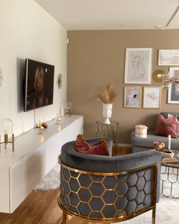 Hesho H R Omradeschef On Instagram I Ett Mega Stolt Samarbete Med Desenio Living Room Design Decor Living Room Decor Apartment Furniture Design Chair