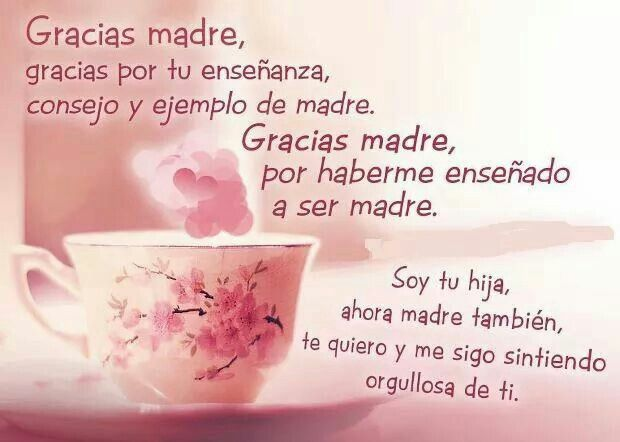 Gracias Madre Quotes 67 best a mi madre.. images on pinterest | words, mothers and