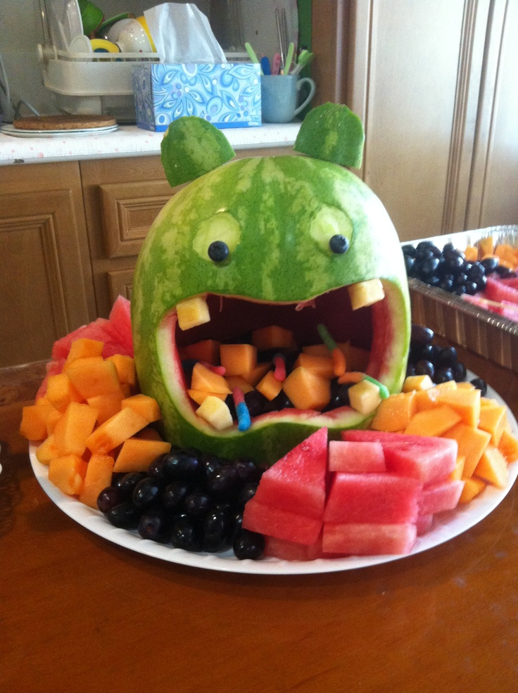 Monsters fruit platter. | Monster ideas | Pinterest ...