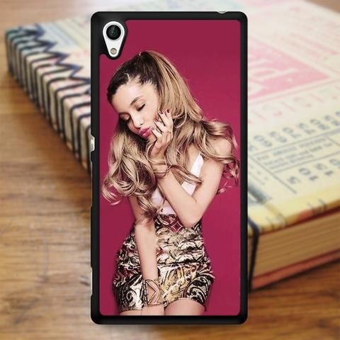 Ariana Grande Cute Kiss Sony Experia Z4 Case