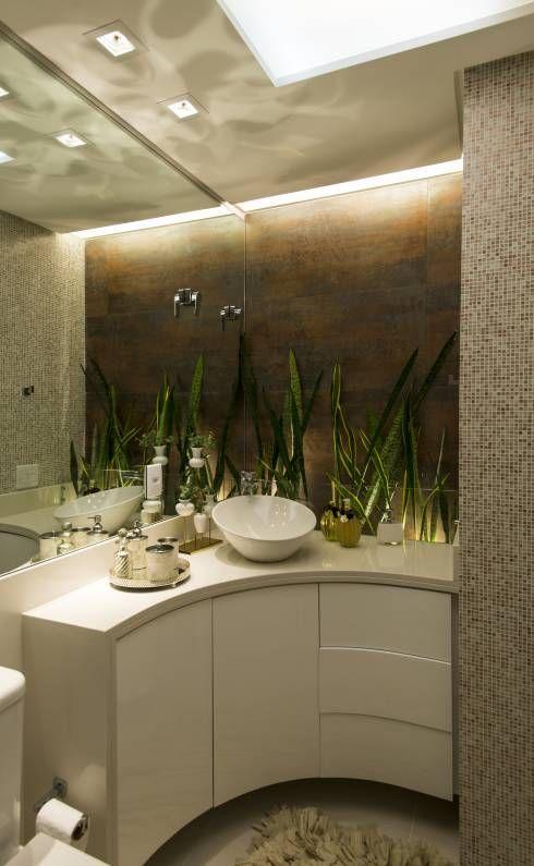 moderne Badezimmer von ANNA MAYA & ANDERSON SCHUSSLER