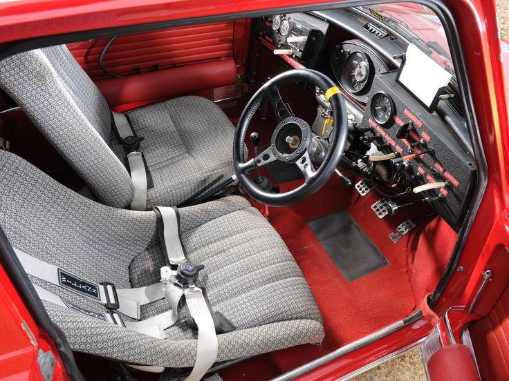 Old Mini Cooper Interior - Google Search