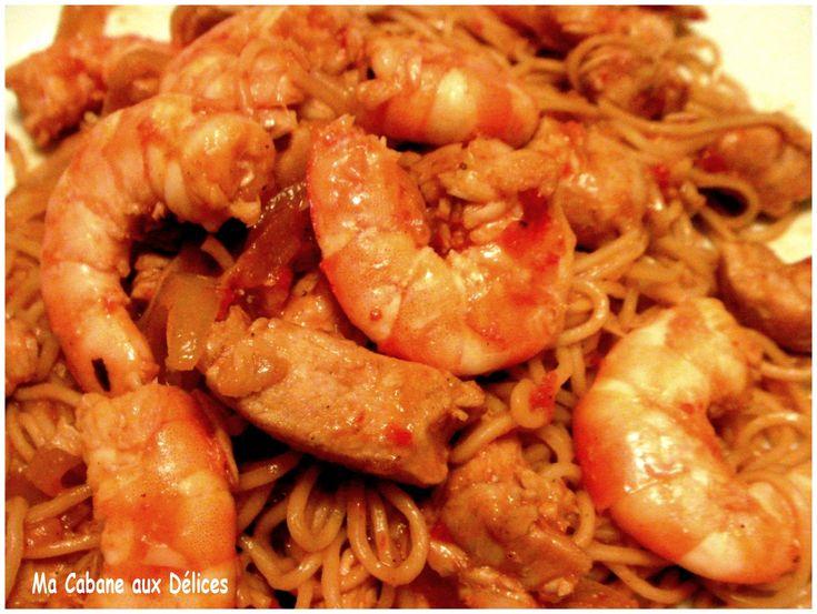 the 25+ best nouilles chinoises aux crevettes ideas on pinterest