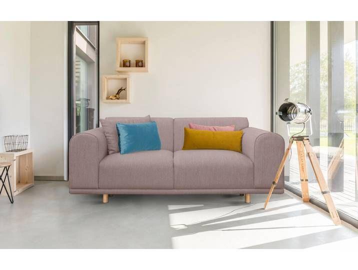 Andas 2 Sitzer Maroon In Skandinavischem Design Mit Losen Kissen Sofa Furniture Home Decor
