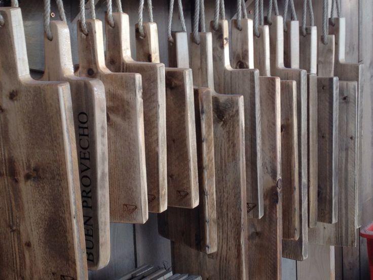 Steigerhouten tapas plank