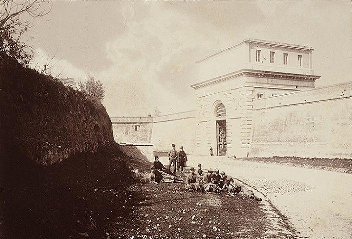 Porta San Pancrazio Anno: 1870