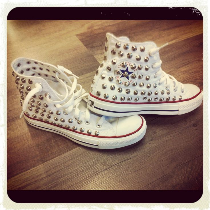 Souvent 108 best borchie!!! images on Pinterest | Creepers, Converse all  LZ47