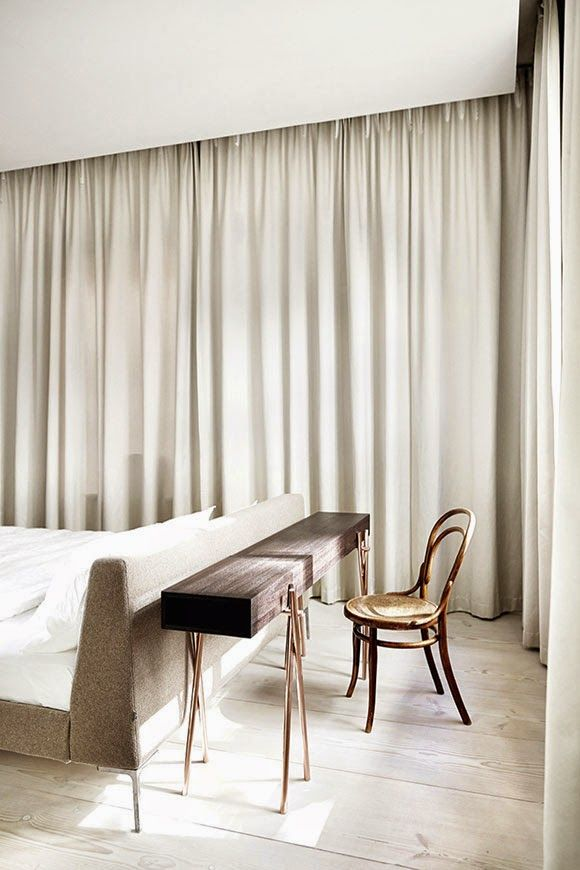 Simplicity Love: Apartment with brass cube, Sweden | Claesson Koivisto Rune