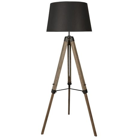 Robust Tripod Floor Lamp 174cm | Freedom Furniture and Homewares