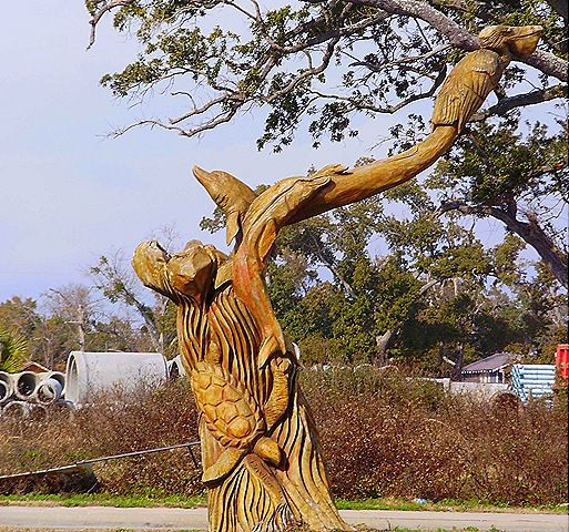 Best angel trees and other carved on ms gulf