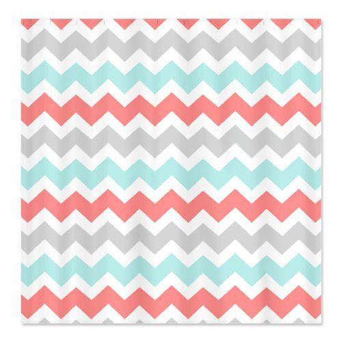 17 Best Images About Pink Chevron Shower Curtain On Pinterest Chevron Showe