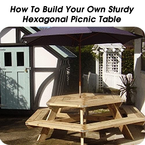 337 best diy outdoor furniture images on pinterest for Build your own patio table