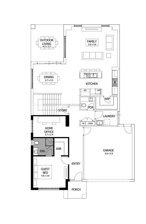 Simple Floor Plans For Houses Simple House Floor Plan With Dimensions House Design Ideas