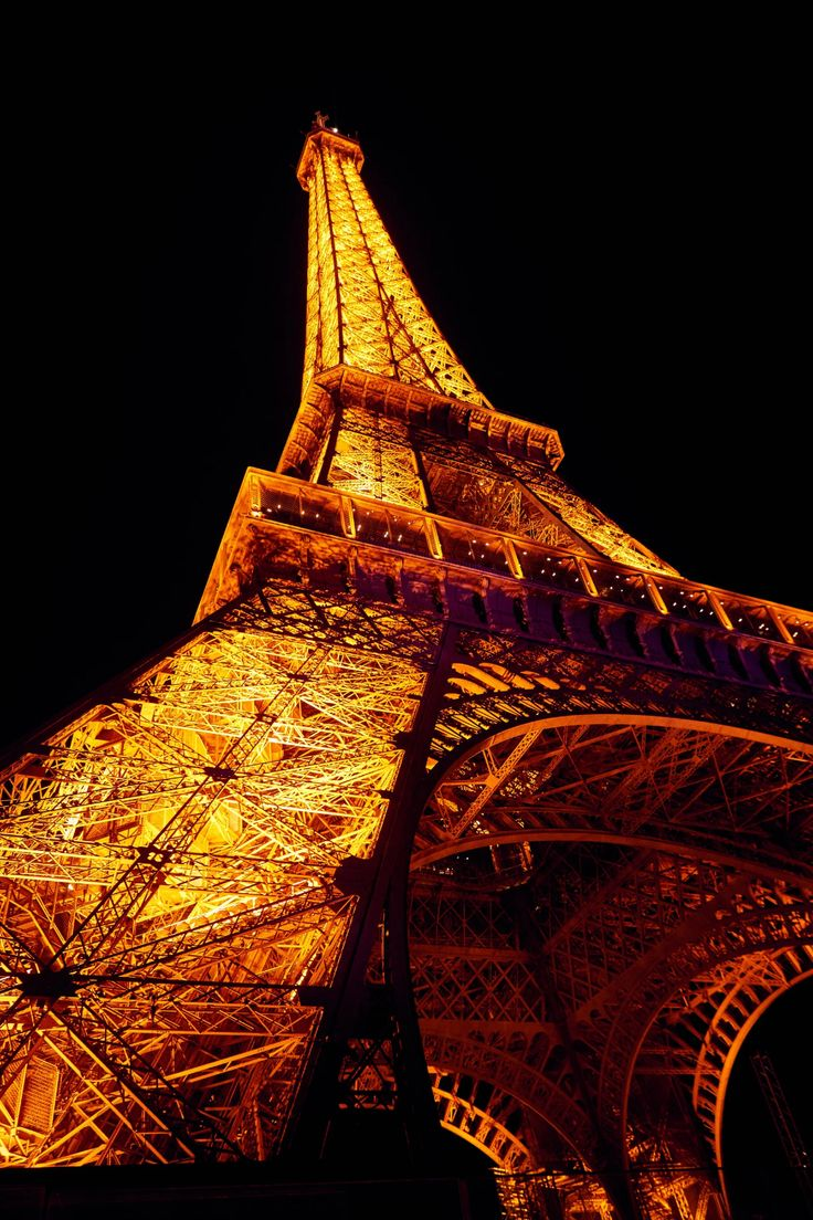 Stroll Through Paris Alongside The City S Chicest Residents Eiffel Tower At Night Paris Images Paris