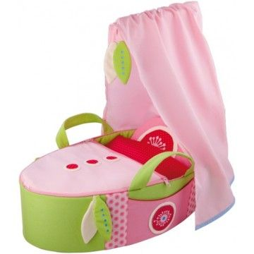 Haba - Doll's Carry Cot Summer Dream