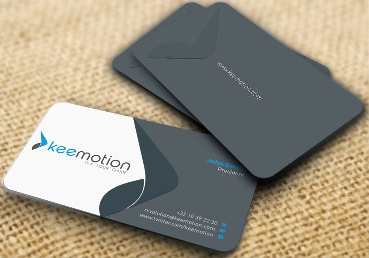 Keemotion picked a winning design in their stationery contest. For just US$299 they received 78 designs from 13 designers.